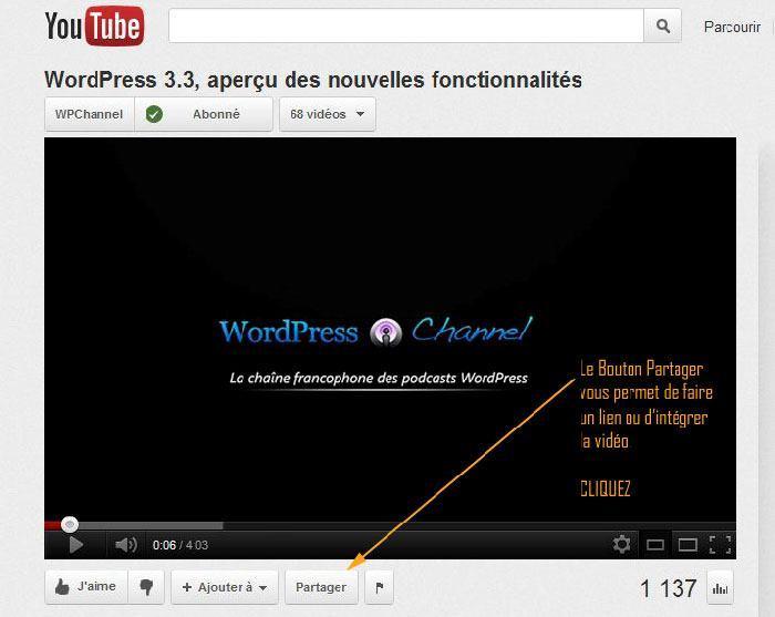 wordpress-integrer-video