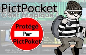 Halte au vol de contenu et d'images avec PictPocket