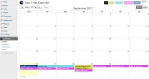 Ajax Event Calendar