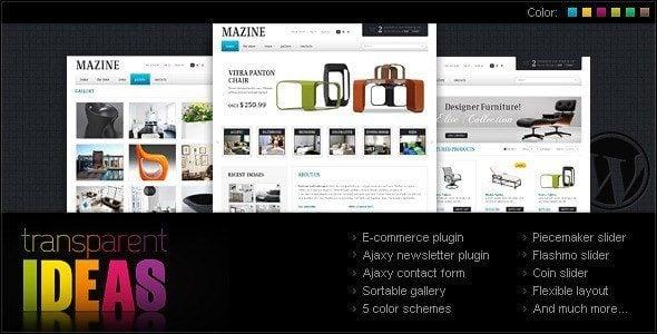 Mazine Ecommerce theme