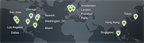 CDN pour les Nuls   Accélérez votre site cdn map
