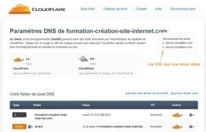 configuration-cloudflare-dns