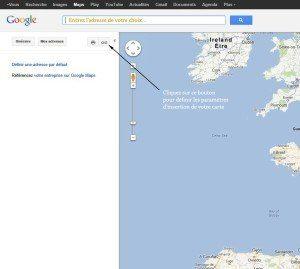 Insérer une carte Google maps google maps 300x269