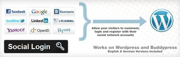 Comment rendre WordPress sociable? social login wordpress1