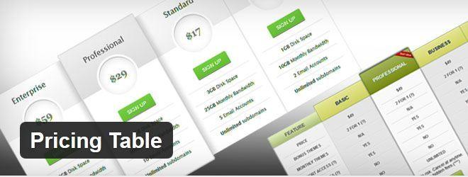 wordpress-free-pricing-table-plugin