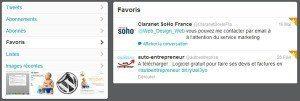 Astuces & Tweets pour Twitter favoris twitter 300x101