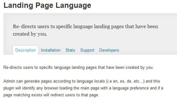 landing-page-langage