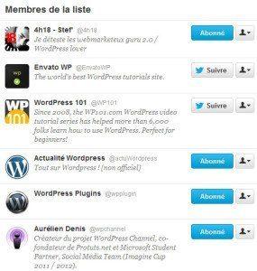 Astuces & Tweets pour Twitter twitter liste 285x300