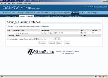 wp-dbmanager