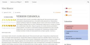 Affichez votre WordPress en plusieurs langues qtranslate espagnol 300x151