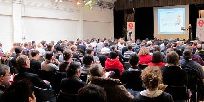 Fabrice Ducarme conférence WordCamp 2013