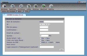 WordPress, changer de serveur Mutualisé à Dédié configurer domaine 300x194