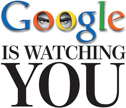 Google vous regarde