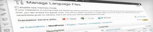 Traduire son theme WordPress