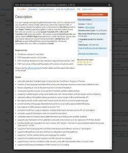Installer extension codestyling localization