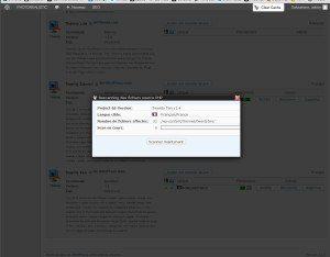 Scanner les fichiers à traduire