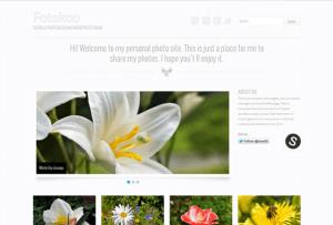 Thème wordpress gratuit pour photographe