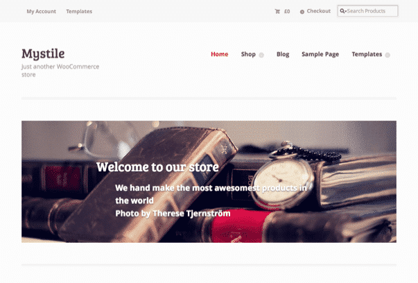 Mystile-WordPress-Theme