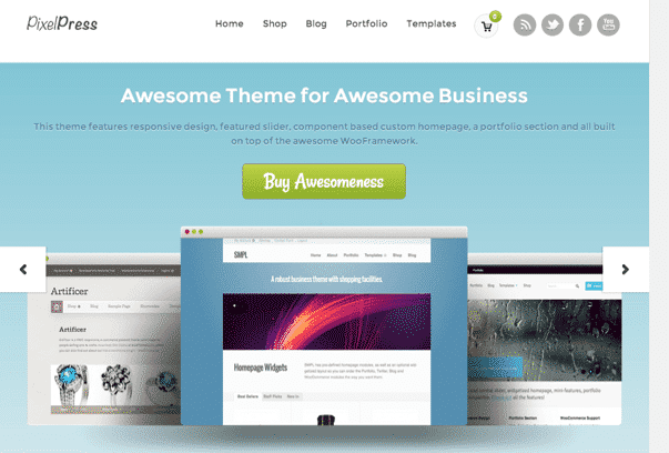 PixelPress-WordPress-Theme