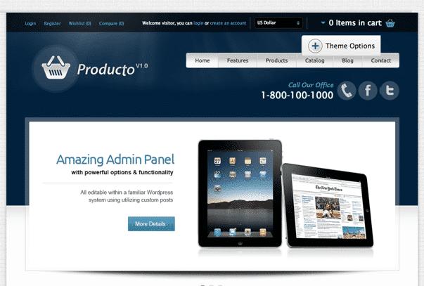 Producto-WordPress-Theme