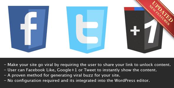 Viral Lock - partager pour lire le contenu