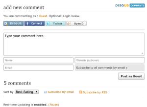 Plugins WordPress : Les Meilleurs, Gratuits & Essentiels disqus 300x219