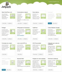 Plugin Jetpack pour WordPress plugin jetpack WordPress 259x300