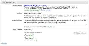Plugins WordPress : Les Meilleurs, Gratuits & Essentiels yseo 300x156