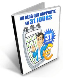 Blog qui rapporte en 31 jours