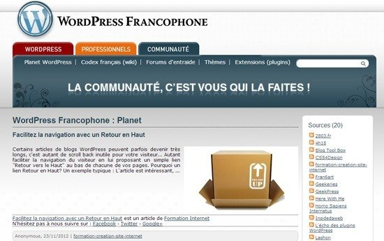 flux-rss-wordpress-francophone