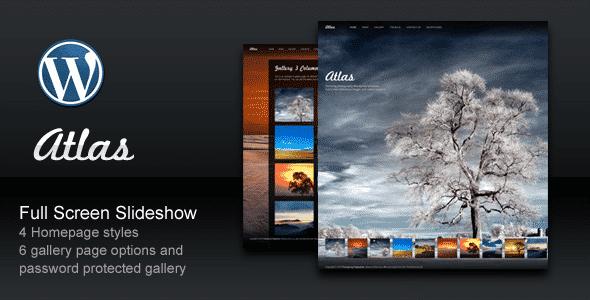 Thèmes WordPress pour Photographes atlas