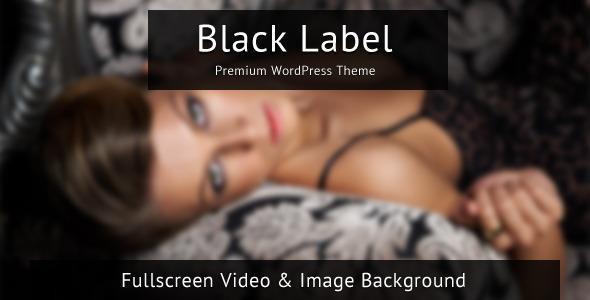 Thèmes WordPress pour Photographes black label