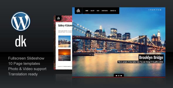 Thèmes WordPress pour Photographes dk