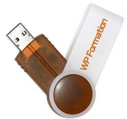 Clé USB fournie par WP Formation