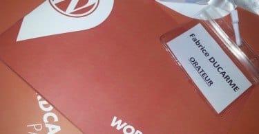 Orateur WordCamp 2013