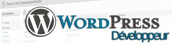 Développeur WordPress
