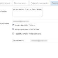 MailPoet (Wysija) Plugin Newsletter WordPress parametres wysija 200x200