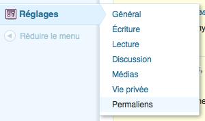 wordpress-permaliens