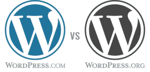 wordpress-com ou wordpress-org