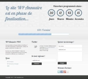maintenance-wordpress-plugin