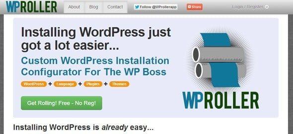 Créez votre installation WordPress sur mesure wproller