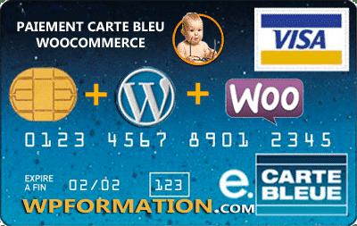 Paiement carte bleue WooCommerce