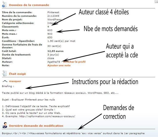 Rédaction darticles: Jai testé Textbroker textbroker redaction commande