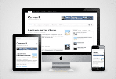 canvas5 Framework WordPress