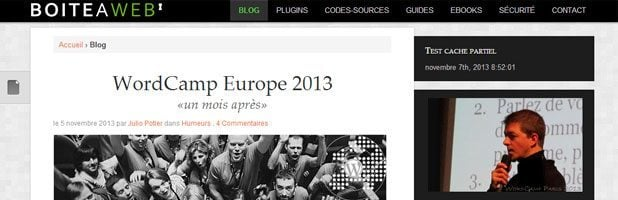 Le WordPress des Blogueurs boiteaweb