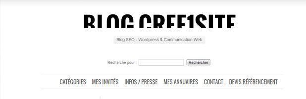 Le WordPress des Blogueurs cree1site