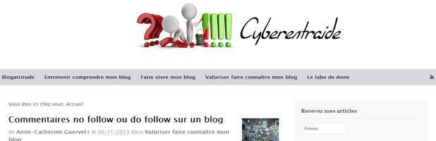 Le WordPress des Blogueurs cyberentraide