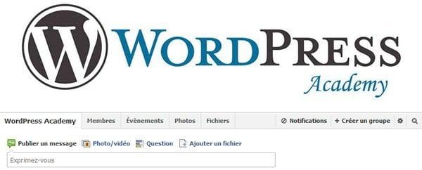Ma veille WordPress veille wordpress facebook