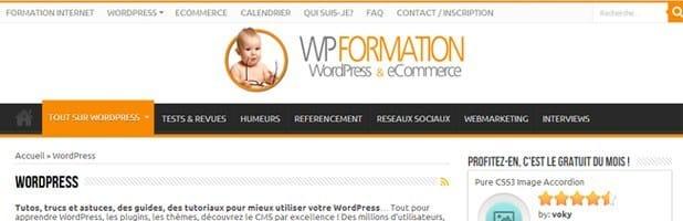 Le WordPress des Blogueurs wp formation
