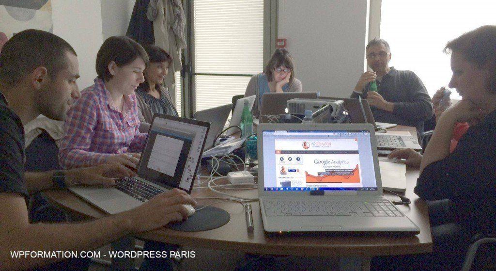 wpformation WordPress cours